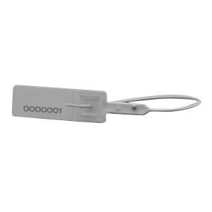 Pack de 100 precintos de seguridad ajustable de polipropileno.Medida útil 200 mm