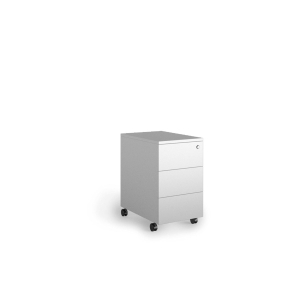 Buck Lyreco 3 cajones con medidas 32x45x55cm blanco