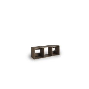 Librería Lyreco 3 casillas con medidas 44x40x128 blanco