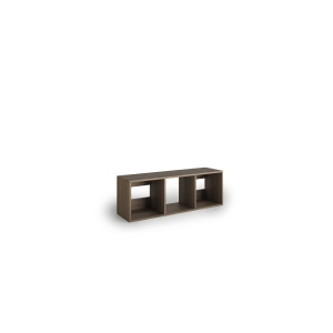 Librería Lyreco 3 casillas con medidas 44x40x128 roble