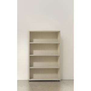Estanteria de 2 estantes con medidas 143x45x90 cm nogal