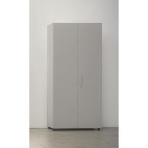 Armario con puerta, medidas 195x45x90 cm nogal