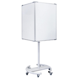 Pizarra caballete BI-OFFICE Info 4 tableros Dim: 910x640 mm