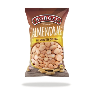 Bolsa de snacks BORGES de almendra salada 30g
