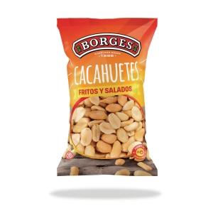 Bolsa de snacks BORGES de cacahuete salado 30g