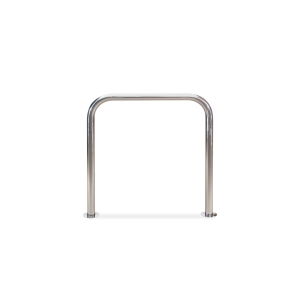 Aparcabicis modelo Barcelona tubo de acero galvanizado 950×750 ø48. 100x750x950