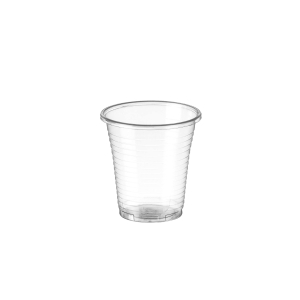 Pack de 100 vasos de polipropileno de 160ml transparente