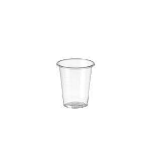 Pack de 100 vasos de polipropileno de 100ml transparente