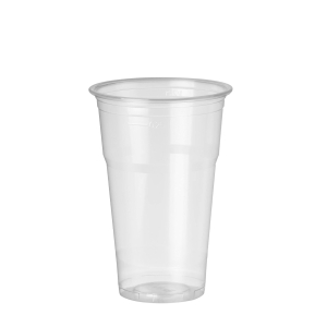 Pack de 50 vasos de polipropileno de 330ml transparente