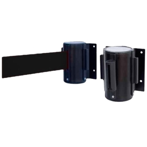 ROLLO DE CINTA DE PARED EXTENSIBLE NEGRA