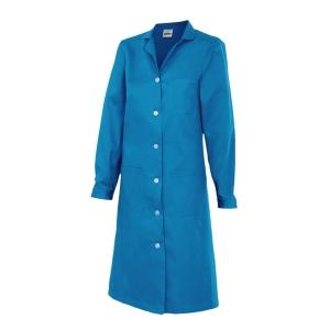 Bata de manga larga para mujer Velilla 908 - azul - talla 44