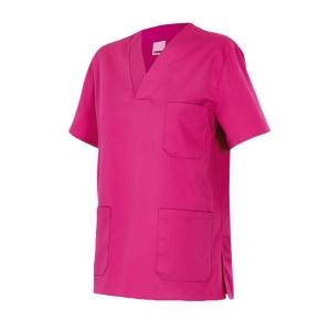 Camisola de pijama sanitario Velilla - fucsia - talla 8