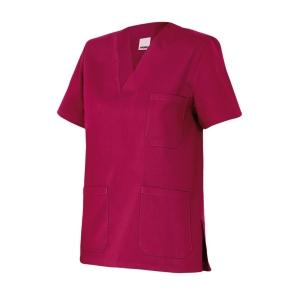 Camisola de pijama sanitario Velilla - burdeos - talla 6