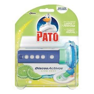 Dispensador + recambio de PATO discos activos aroma lima