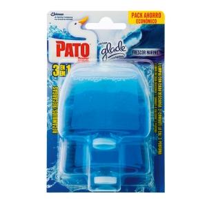 Pack de 2 recambios de gel activo Pato - aroma marino