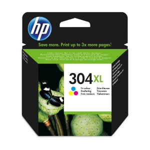 CARTUCHO INK HP 304XL DE 3 COLORES N9KO74E