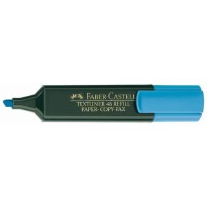 Marcador fluorescente FABER-CASTELL Textliner 48 color azul