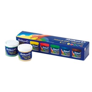 SET 5 COLORES PINTURA DEDOS 5X40ML