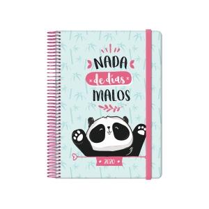 Agenda Dohe Panda - día página - 150 x 210 mm