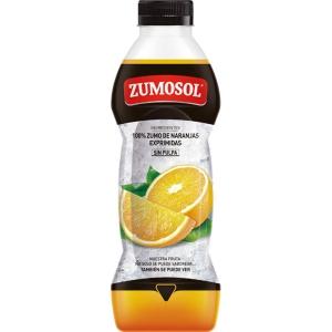 Botella de zumo Zumosol - naranja sin pulpa - 750 ml