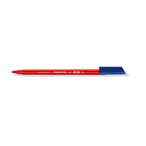 Rotulador punta de fibra STAEDTLER NORIS CLUB 326 color rojo
