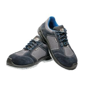 Zapatos de seguridad Mendi Ícaro S1P - gris/azul - talla 43