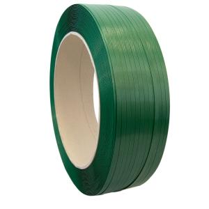 Fleje poliéster 12mmx2600m verde