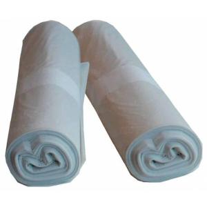 Rollo de 100 bolsas de basura - 5 L - 60 galgas - blanco