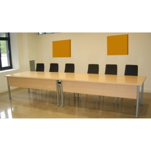 PANEL FIJADO A PARED 60CMx60CM MOSTAZA