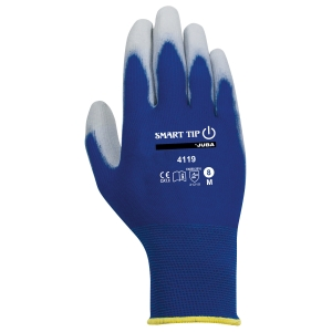 Caja de 10 pares de guantes táctiles Juba H4119 talla 10