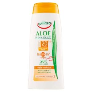 Crema solar con aloe SPF 20 - 200 ml