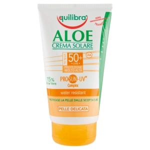 Crema solar 50SPF con aloe 150ml