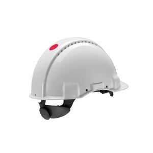 Casco de seguridad 3M Peltor G3000 NW con ventilación. Color blanco