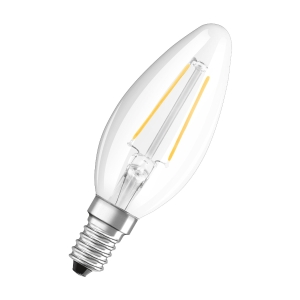 LED VALUE CL B FIL 40NON 4W/827 E14