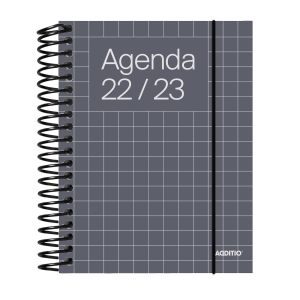 Agenda universal ADDITIO 142 semana vista castellano