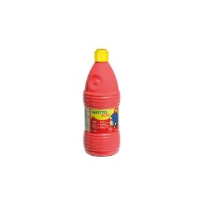 Tempera líquida GIOTTO be-be 1 litro color Rojo