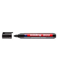 Marcador permanente EDDING 300 color negro