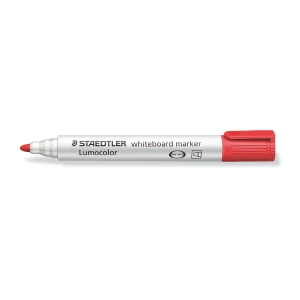 Marcador para pizarra blanca STAEDTLER Lumocolor color rojo