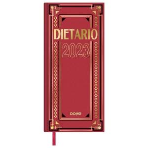 DIETARIO 2/3 DÍA PÁGINA DE 145 X 310 MM. COLORES SURTIDOS. CASTELLANO