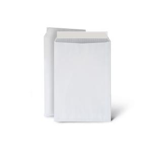 Caja de 250 bolsas folio prolongado - 260 x 360 mm - 100 g/m² - banda adhesiva