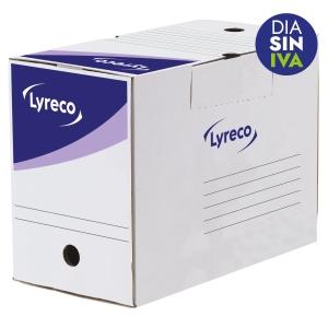 Pack 25 cajas archivo definitivo  formato A4  LYRECO Dimensiones: 250x330x200mm