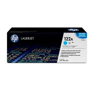 Tóner láser HP 122A cian alta capacidad Q3961A para LaserJet Color 2550/2820