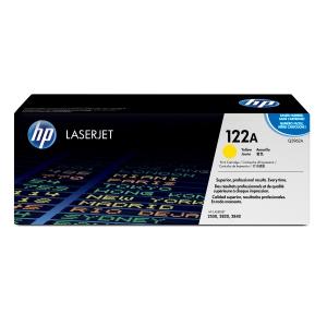 Tóner láser HP 122A amarillo alta capacidad Q3962A para LaserJet Color 2550/2820