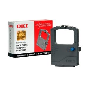 Cinta matricial Oki 01126301 para Oki ML-5520/5521/ML-5590/5591 - negro