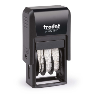 Sello fechador Trodat Printy-Dater 4810
