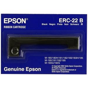 Cinta matricial Epson S015358 ERC-22B para M-180/181/182/183/185- nailon- negro