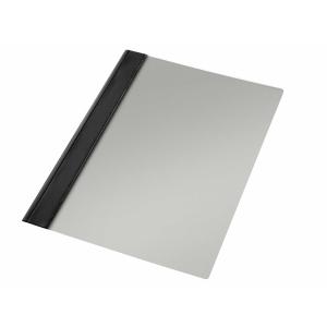 Pack de 10 dossiers PVC Folio con fástener metálico  Color negro
