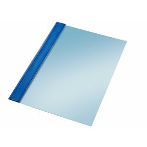 Pack de 10 dossiers PVC Folio con fástener metálico  Color azul