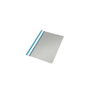 Dossier de polipropileno con fástener metálico  formato folio  color azul