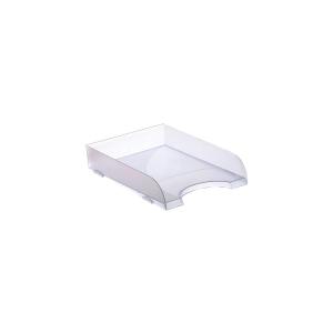 Bandeja porta documentos sobremesa cristal translúcido ARCHIVO 2000